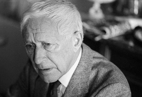 German Writer Ernst Junger