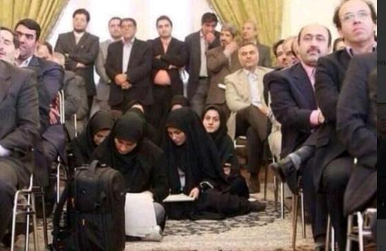 Pressekonferanse i Teheran