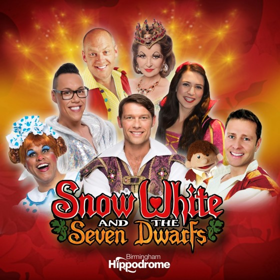 SNOW WHITE Pantomime Birmingham Gok Wan John Partridge Danielle Hope