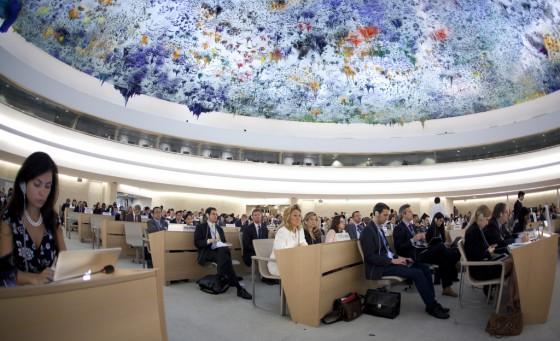 UN Human Rights Council discusses Syria June 27, 2012