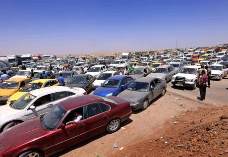 iraq,checkpoint.mosul.flight-2-getty