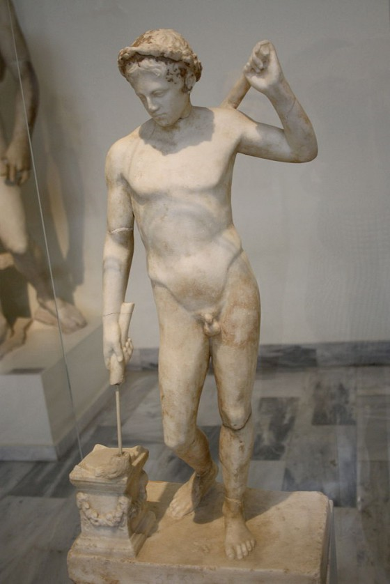 Thanatos.Archaeological_Museum,_Athens_-_Thanatos_-_Photo_by_Giovanni_Dall'Orto,_Nov_13_2009