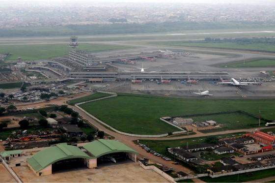 Murtala Mohammed International Airport i Lagos, Nigeria