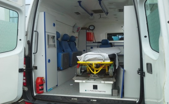 Ambulance donated to Port Harcourt by Shell Companies in Nigeria