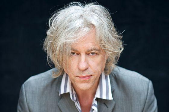 Bob Geldof, press session