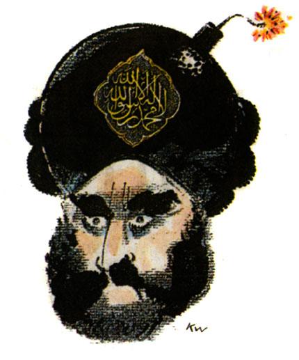 Tegning af Muhammed