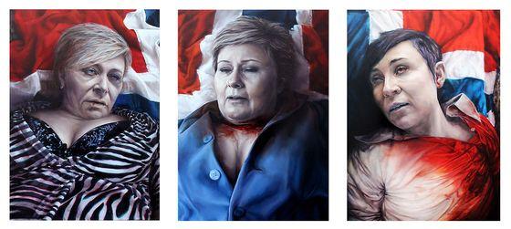 Martyr Siv Erna Ine Marie - vg.no:nyheter:innenriks:stiller-ut-malerier-av-siv-erna-og-ine-som-doede-martyrer:a:23410389: