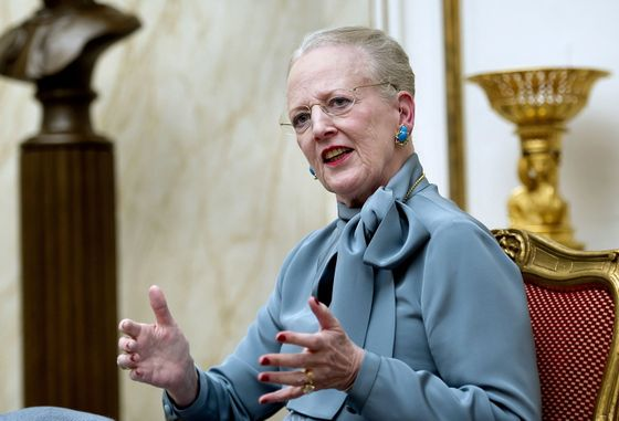 Danish Queen Margrethe's 40th Jubilee , Dronning Margrethe