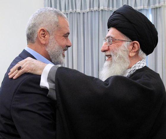 khamenei-haniyeh