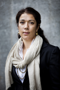 Gardermoen  20110818. Portrett av Laila Bokhari, medlem av 22. juli-kommisjonen. Foto: Thomas Winje Øijord / Scanpix