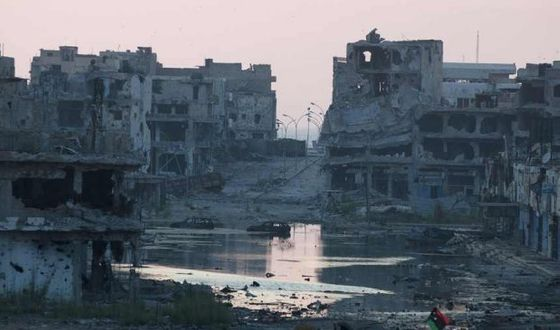 Bilderesultater for bengasi en ruinas 2011