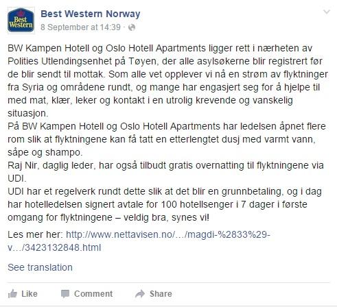 Best Western FB