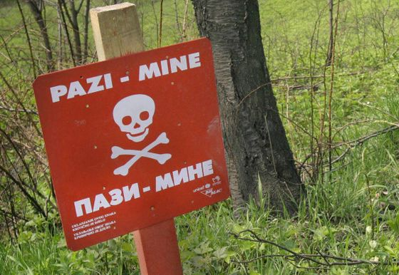 Kroatia minefelt