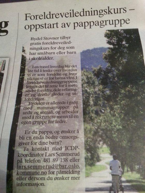 Oslo kommune oppfordrer til segregering.
