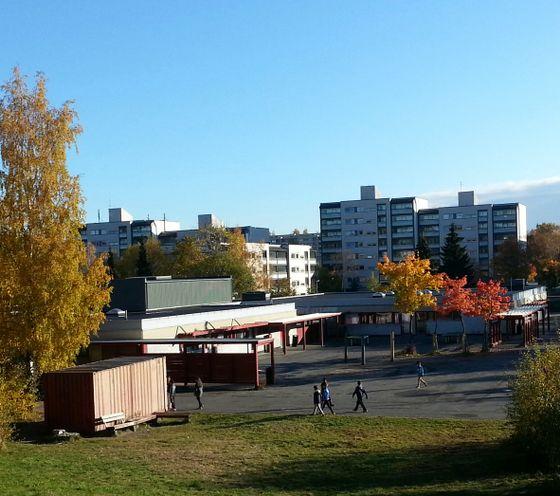 Gran skole. Ingen norske barn begynner her lenger.