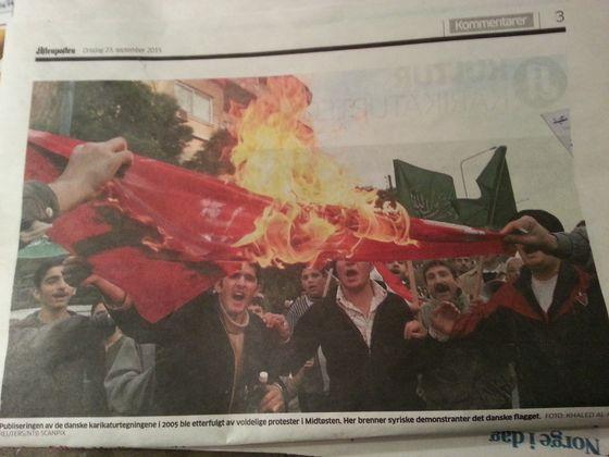 Syrere og ytringsfrihet. Hvor mange av de som ankommer Norge deler synspunktene til denne gjengen?