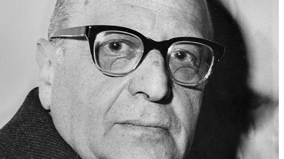 Portrait Of Max  Horkheimer