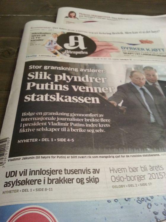 Aftenposten vier litt oppmerksomhet til den største demografiske endringen av Norge noen sinne.
