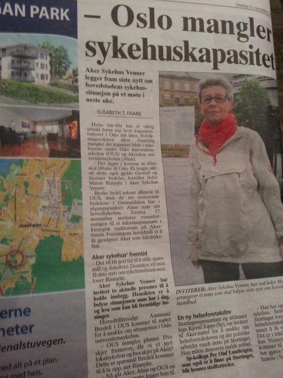 Det finnes skjær i sjøen for Raymond Johansens romantisering over befolkningsøkningen i Oslo. Sykehuskapasiteten er et av dem.