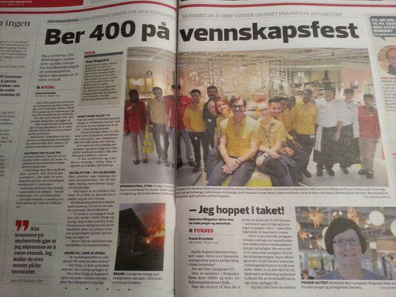 Vennskapfest hos IKEA skal sveise sammen folk av ulik kulturell bakgrunn.