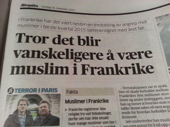 Hvordan er det å være gjenlevende etter å ha mistet sin kjære i islamistisk terrorangrep? Det spiller liten rolle. Det er vanskelig å være muslim.