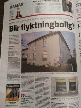 Hamar: Byens beste tomt til flyktningebolig?