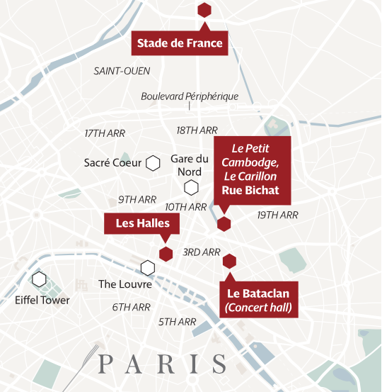 Paris terror 13. november 2015