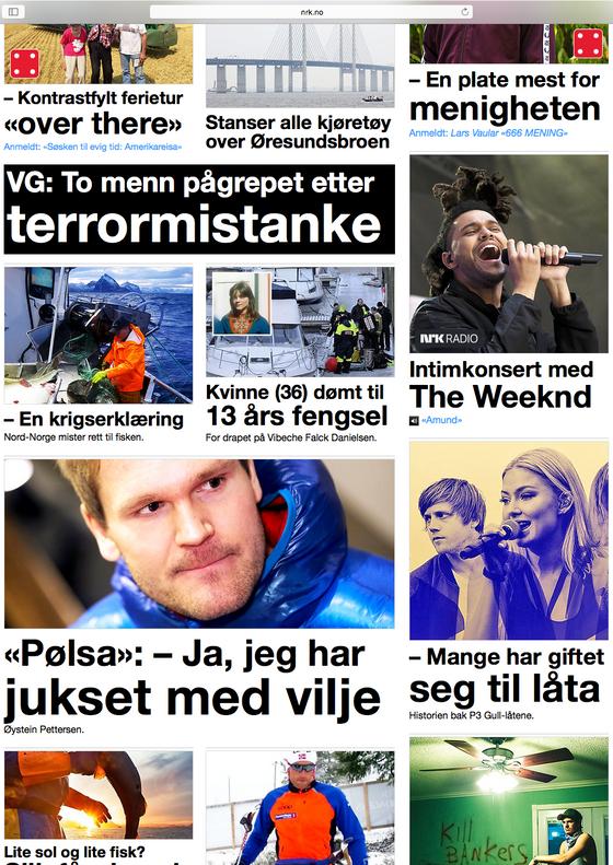 To nordmenn terrorpågrepet - NRK