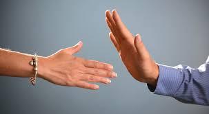 no handshake
