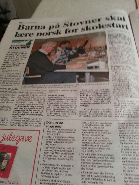 Nok en suksesshistorie fra norsk integrering?