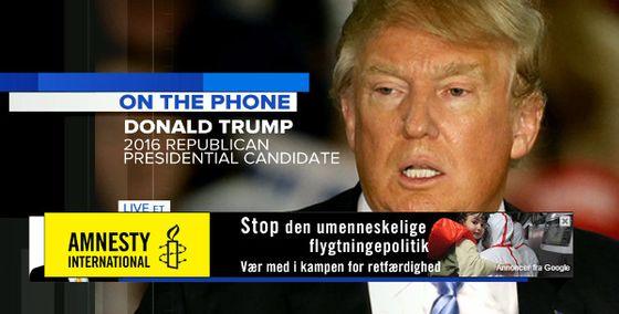 2015, 8:12 - Donald Trump, internering pause innvandring muslimer