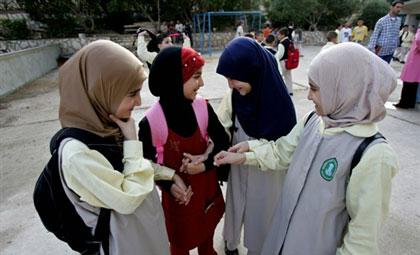 Hezbullah schoolgirls