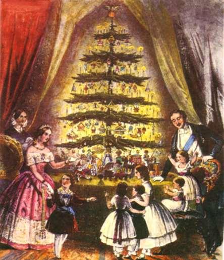 Victoria & Albert juletre 1841