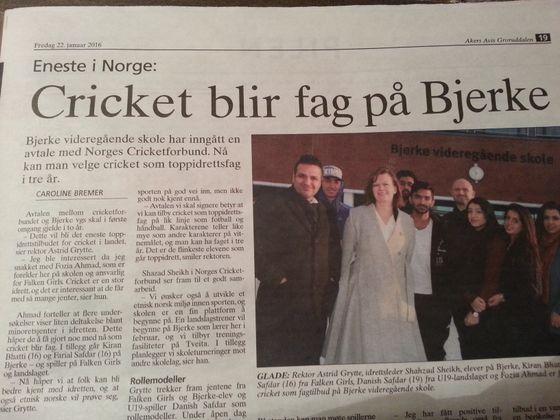 Det nye Norge går hverken på ski eller spiller fotball.