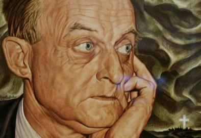 Portrait of Reinhold Niebuhr by Ernest Hamlin Baker