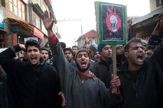 shia.srinagar.protest.saudi.killing