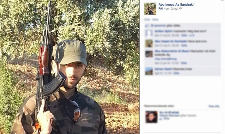 Mirsad Bektasevic Telenor jihad ISIS Syria Bosnia Danmark 2016