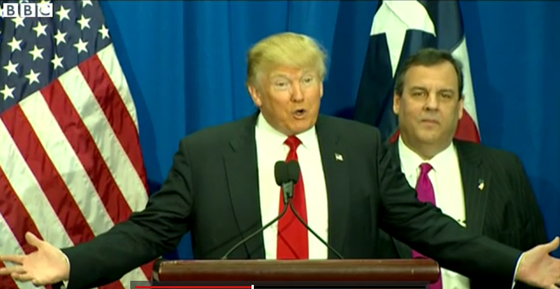 Trump og Christie