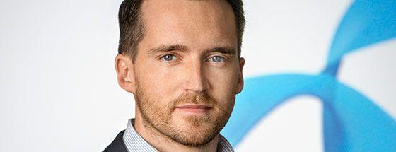 presschef Aron Samuelsson