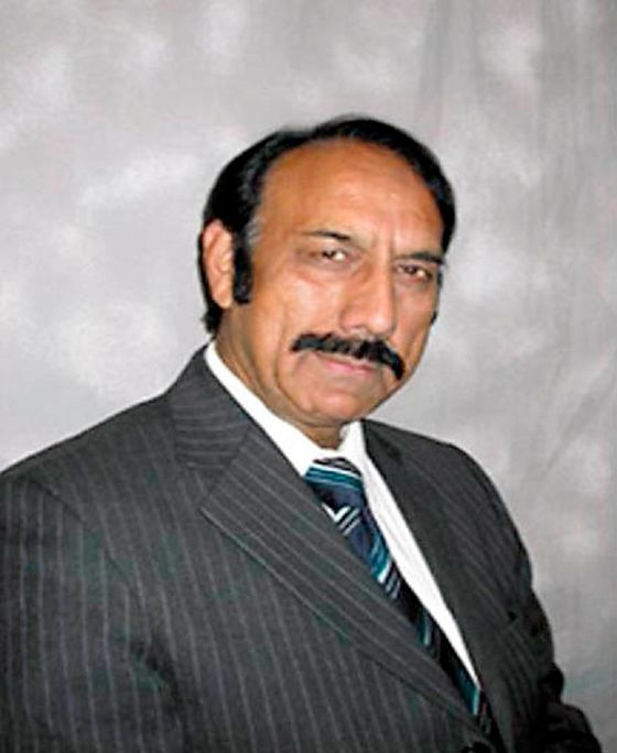 Conservative election candidate Zafar Ali