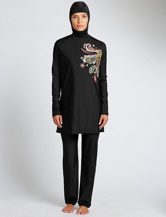 M&S COLLECTION New Paisley Print Burkini - £49.50 T529886F