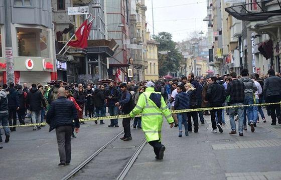 Istanbul selvmordsbombe Tyrkia 19. marts 2016