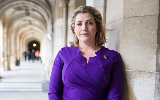 Mcc0068647.ST News. Armed Forces Minister Penny Mordaunt MP