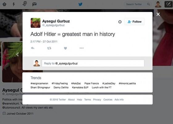 Aysegul Gurbuz Luton Counciler mos web grabsg