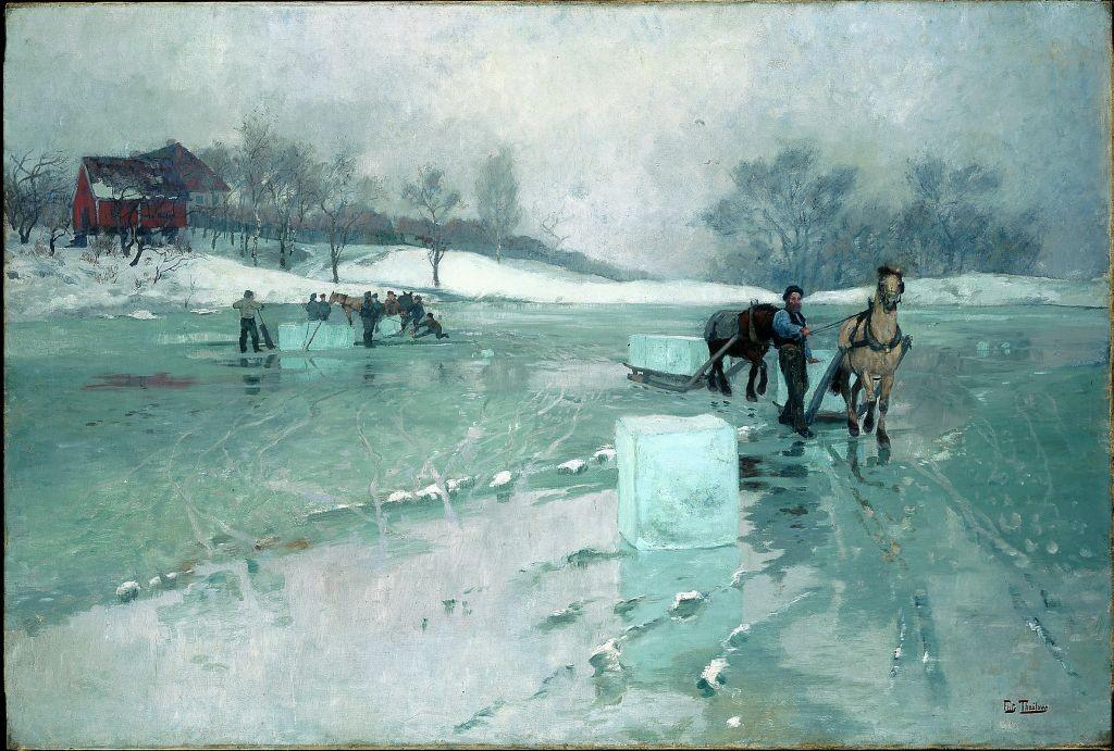 Frits-Thaulow-Iskjøring-1884