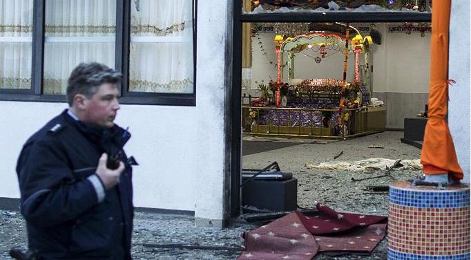 Gurdwara Nanaksar bombeangrep sikher multikultur jihadister Essen Tyskand 2016