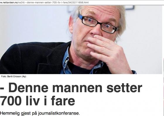 Lars Vilks Nettavisen - document.no:2016:04:nettavisenntb-gjor-lars-vilks-ansvarlig-for-truslene-mot-ham: