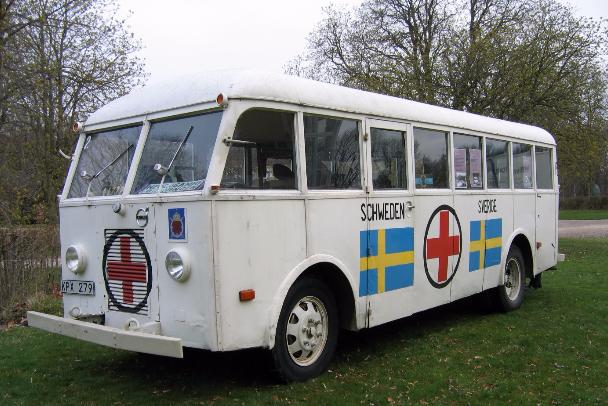 hvit buss