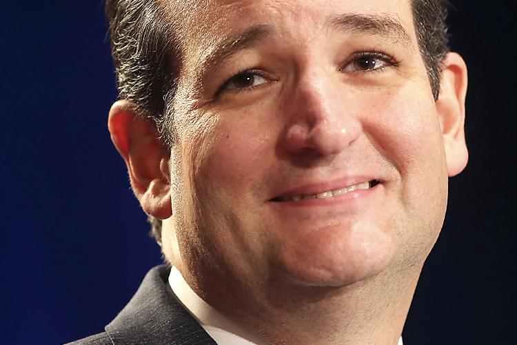 U.S. Senator Ted Cruz (R-TX) speaks to members of the Texas Federation of Republican Women in San Antonio, Texas October 19, 2013. REUTERS/Joe Mitchell (UNITED STATES - Tags: POLITICS HEADSHOT) - RTX14H7R