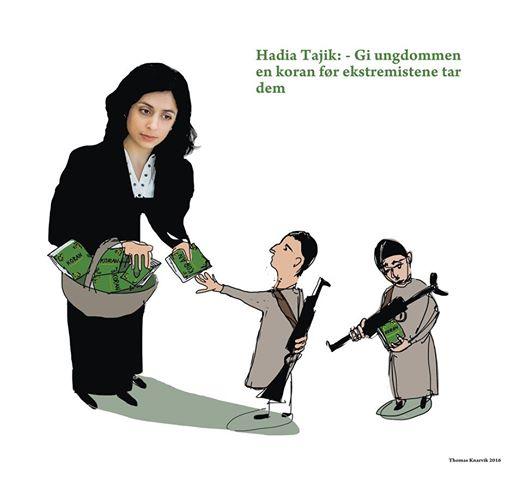 Hadia Tajik - Thomas Knarvik